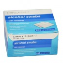 Antiseptic Alcohol Swabs – First Aid Skin Cleanser In Minor Cuts, Scrapes And Burns
