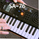 CASIO Mini Key Board SA76